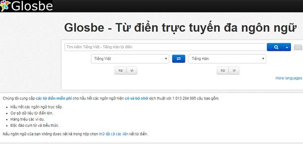 web Glosbe